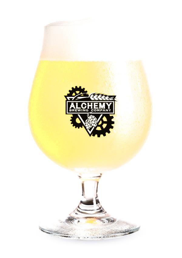 Alchemy Brewing - Blond Beer Glass