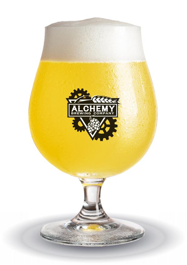 Alchemy Brewing - Light Beer Glass